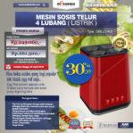 Jual Mesin Sosis Telur 4 Lubang Grillo-400 di Mataram