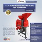 Jual Kombinasi Pengupas Beras dan Penepung AGR-RMD802 di Mataram