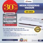 Jual Mesin Vacuum Sealer (DZ-280A) Di Mataram