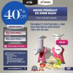 Jual Mesin Es Krim Buah Rumah Tangga di Mataram