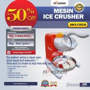 Jual Mesin Ice Crusher MKS-CRS30 di Mataram