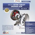 Jual Mesin Cetak Tablet Ukuran 2cm MKS-TBL66 di Mataram