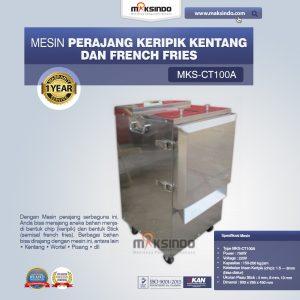 Jual Mesin Perajang Keripik Kentang dan French Fries – MKS-CT100A di Mataram