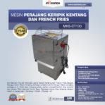 Jual Mesin Perajang Keripik Kentang dan French Fries – MKS-CT100 di Mataram