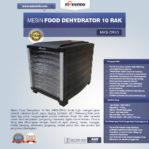 Jual Mesin Food Dehydrator 10 Rak (MKS-DR10) di Mataram