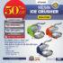 Jual Mesin Ice Crusher MKS-CRS20 di Mataram