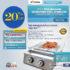 Jual Pemanggang Serbaguna – Gas BBQ Grill 2 Tungku Full Stainless di Mataram