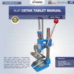 Jual Alat Cetak Tablet Manual MKS-TBL8 di Mataram