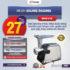 Jual Mesin Giling Daging (Meat Grinder) MHW-G51B di Mataram