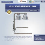 Jual Mesin Food Warmer Lamp MKS-DW240 di Mataram