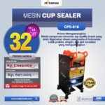 Jual Mesin Cup Sealer Manual (CPS-818) di Mataram