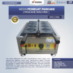 Jual Mesin Pembuat Pancake (Pancake Machine) MKS-EW66 di Mataram