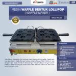 Jual Mesin Waffle Bentuk Lollipop (Waffle Maker) MKS-WL06 di Mataram
