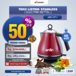 Jual Teko Listrik Stainless (Electrik Kettel) ARD-KT11 di Mataram