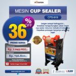 Jual Cup Sealer Manual plus Counter (CPS-919) di Mataram