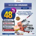 Jual Mesin Es Serut (Ice Crusher- MKS002) di Mataram