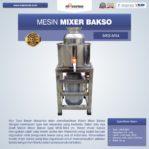 Jual Mesin Mesin Mixer Bakso MKS-MX4 di Mataram