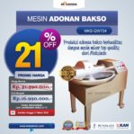 Jual Mesin Adonan Bakso (Fine Cutter) MKS-QW724 di Mataram