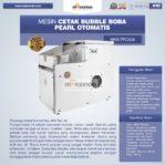 Jual Mesin Cetak Bubble Boba Pearl Otomatis MKS-TPC504 di Mataram