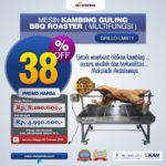 Jual Mesin Kambing Guling BBQ Roaster (GRILLO-LMB11) di Mataram
