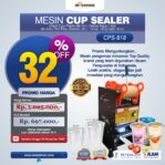 Jual Mesin Cup Sealer Manual (CPS-818) di Mataram