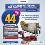 Jual Mesin Kambing Guling Double Location Roaster (GRILLO-LMB55) di Mataram