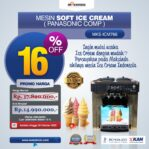 Jual Mesin Soft Ice Cream ICM766 (Panasonic Comp) di Mataram