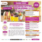 Training Sukses Ice Cream Dan Topping, Minggu 05 July 2020