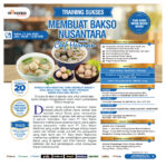 Training Cerdas Membuat Bakso Nusantara Sabtu, 11 July 2020