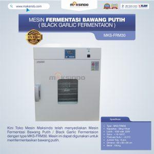 Jual Mesin Fermentasi Bawang Putih / Black Garlic Fermentaion MKS-FRM30 di Mataram