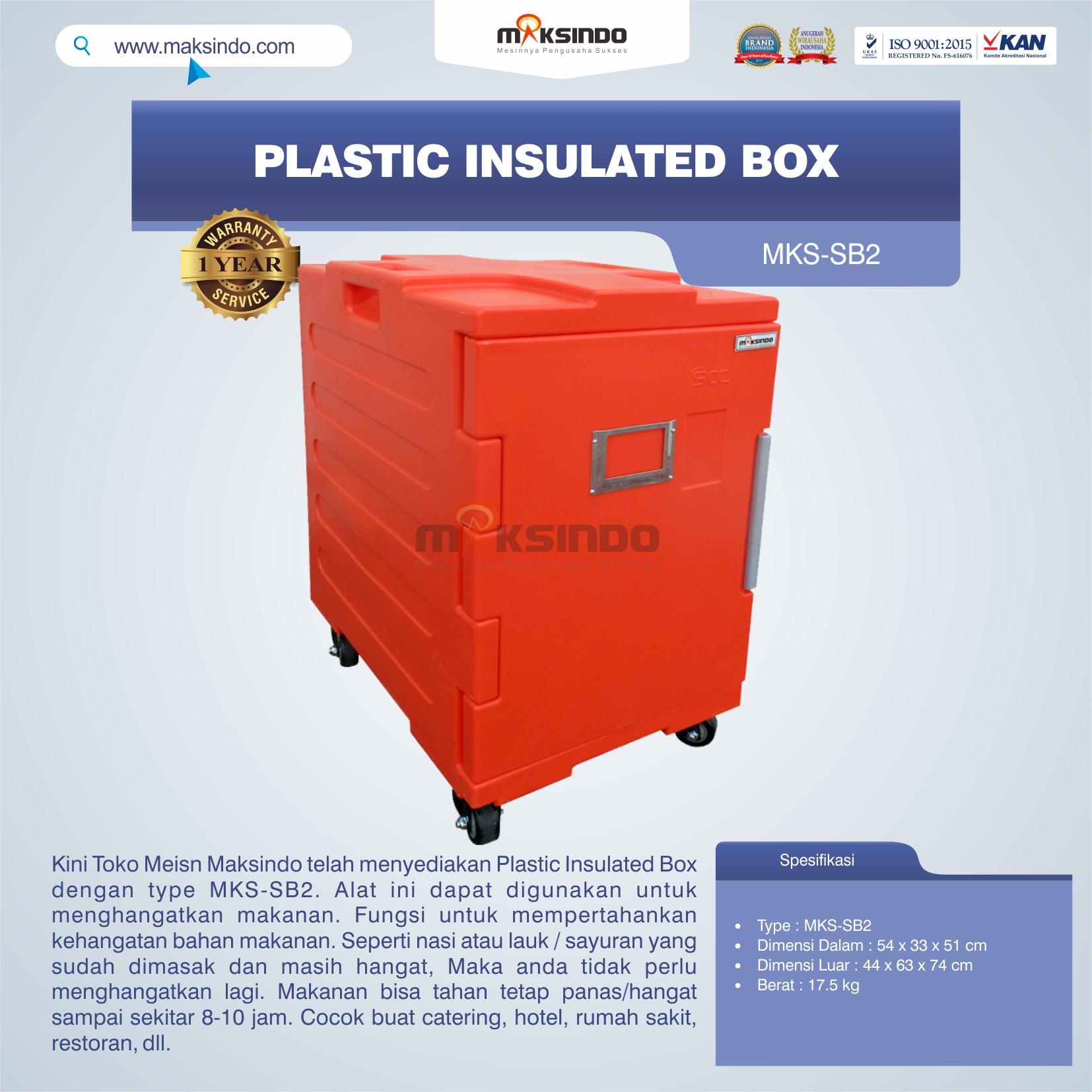 Jual Plastic Insulated Box MKS-SB2 di Mataram