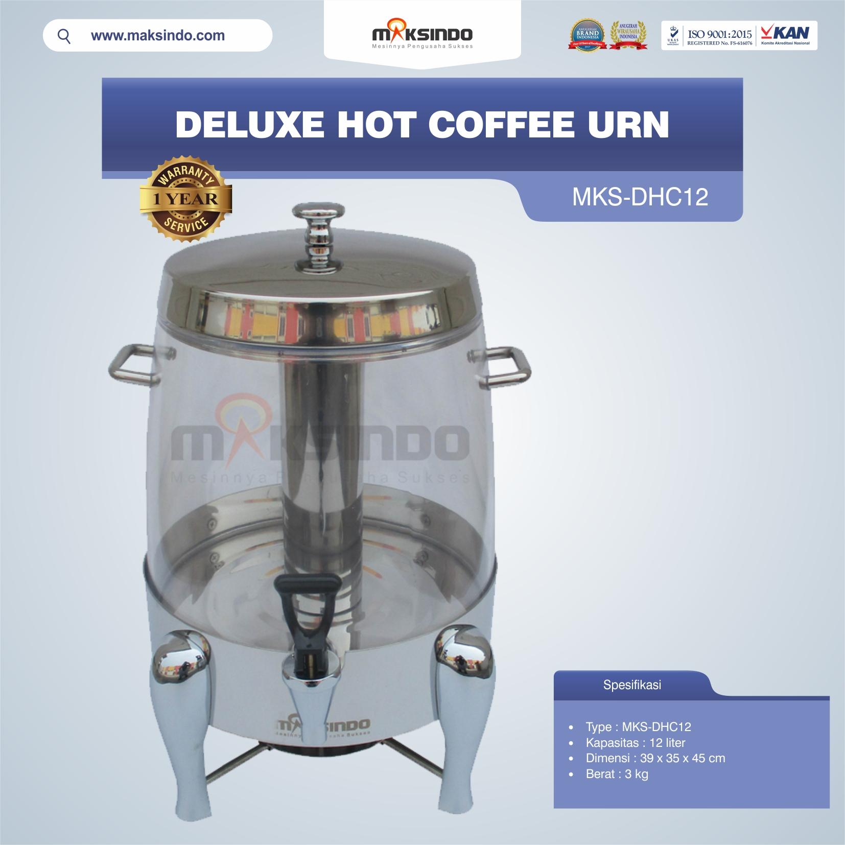 Jual Deluxe Hot Coffee Urn MKS-DHC12 di Mataram