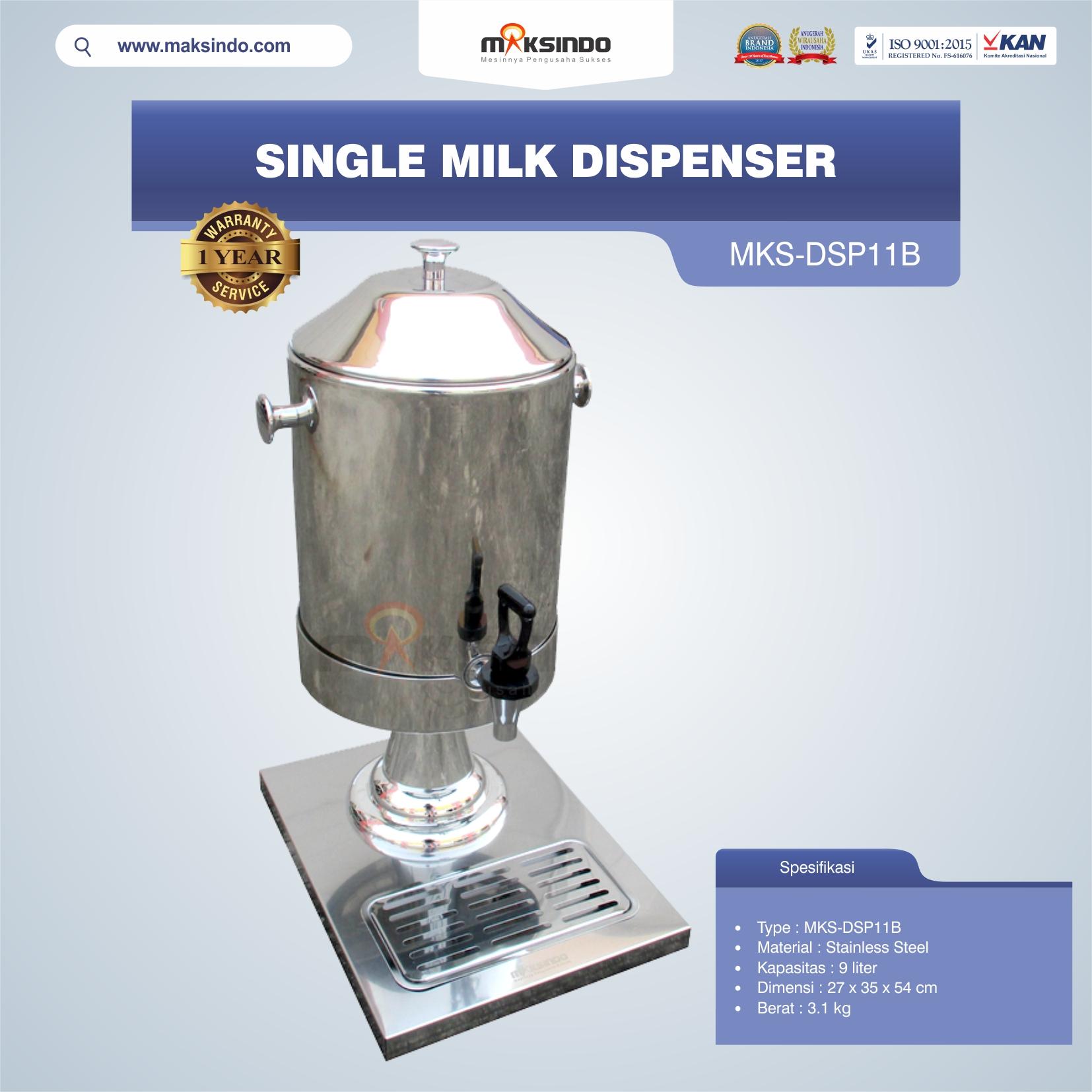 Jual Single Milk Dispenser MKS-DSP11B di Mataram