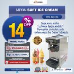 Jual Mesin Soft Ice Cream ISC-16S di Mataram