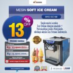 Jual Mesin Soft Ice Cream ISC-188 di Mataram