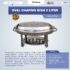 Jual Oval Chafing Dish 5 Liter di Mataram