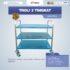 Jual Troli 3 Tingkat MKS-TRY3 di Mataram
