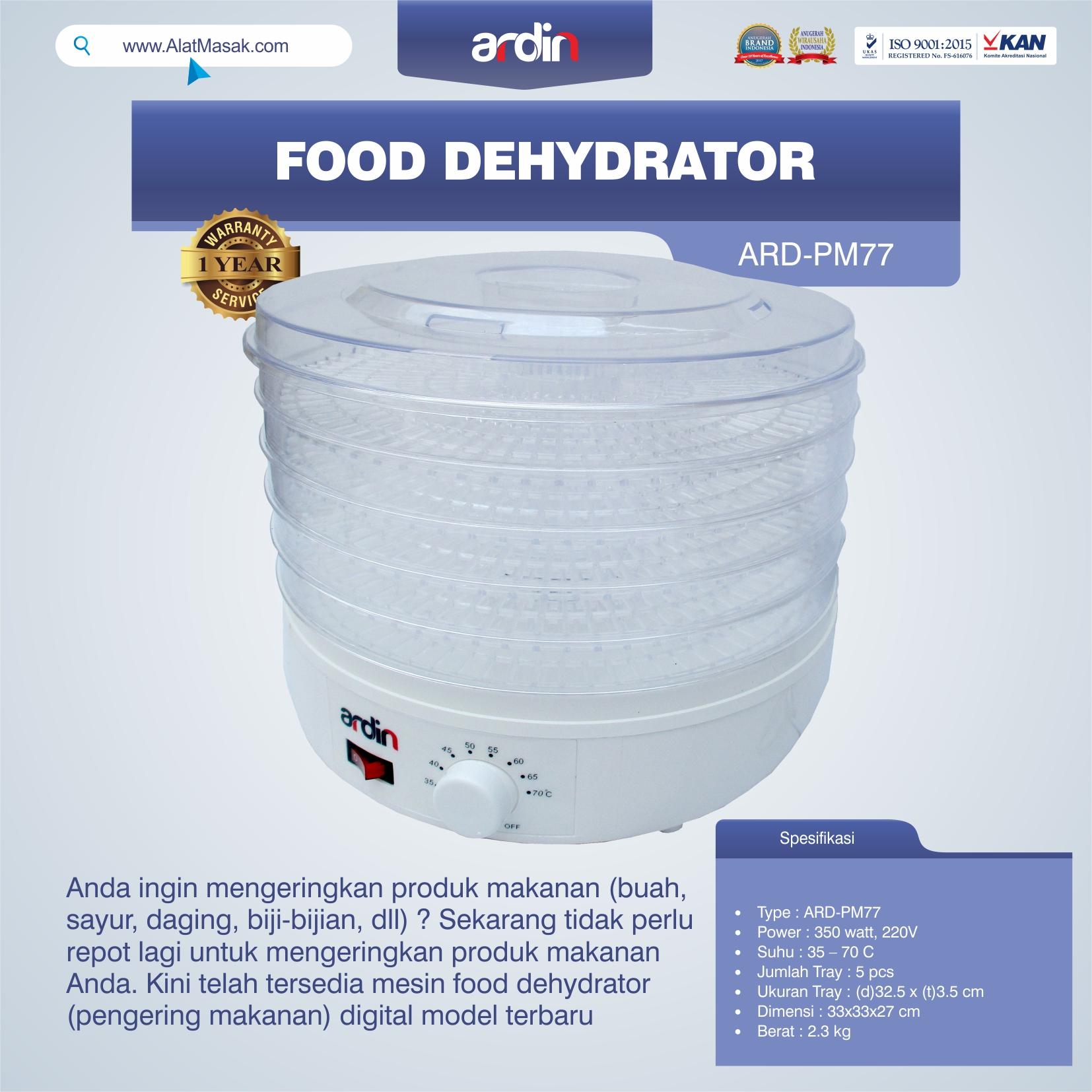 Jual Food Dehydrator ARD-PM77 di Mataram