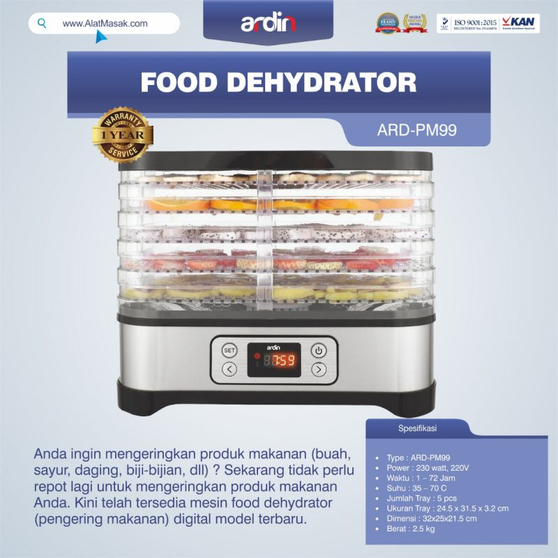 Jual Food Dehydrator ARD-PM99 di Mataram