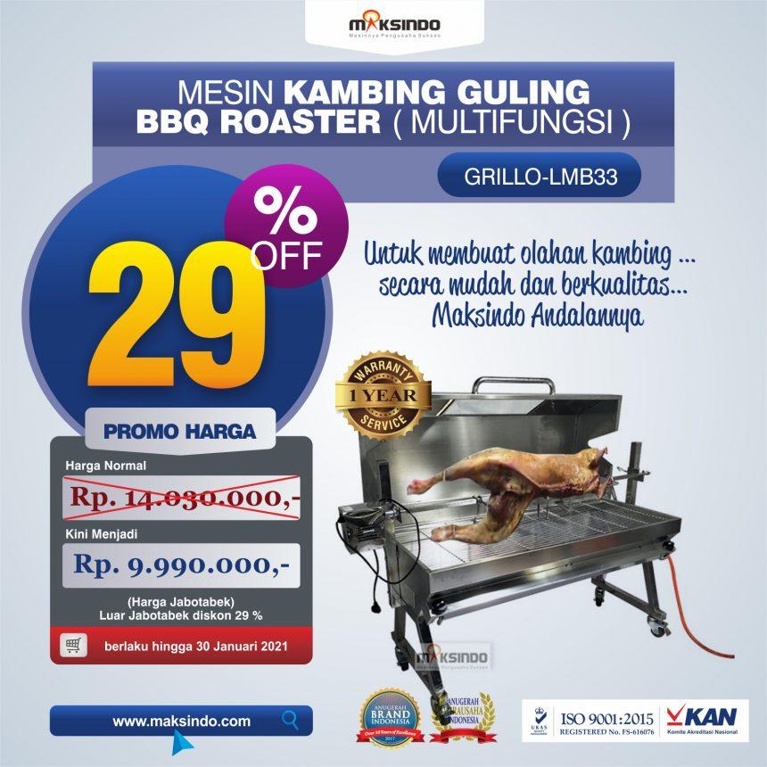 Jual Mesin Kambing Guling BBQ Roaster (GRILLO-LMB33) di Mataram