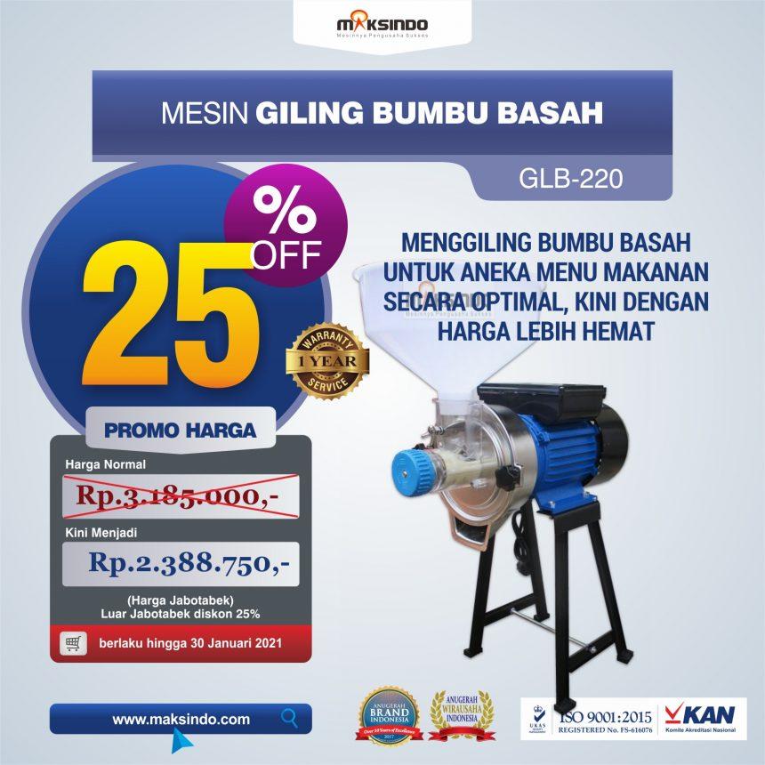 Jual Mesin Giling Bumbu Basah GLB220 di Mataram