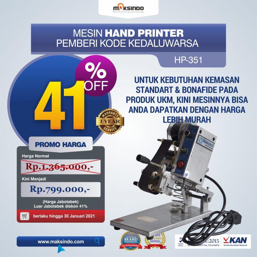 Jual Mesin Hand Printer (Pencetak Kedaluwarsa) di Mataram