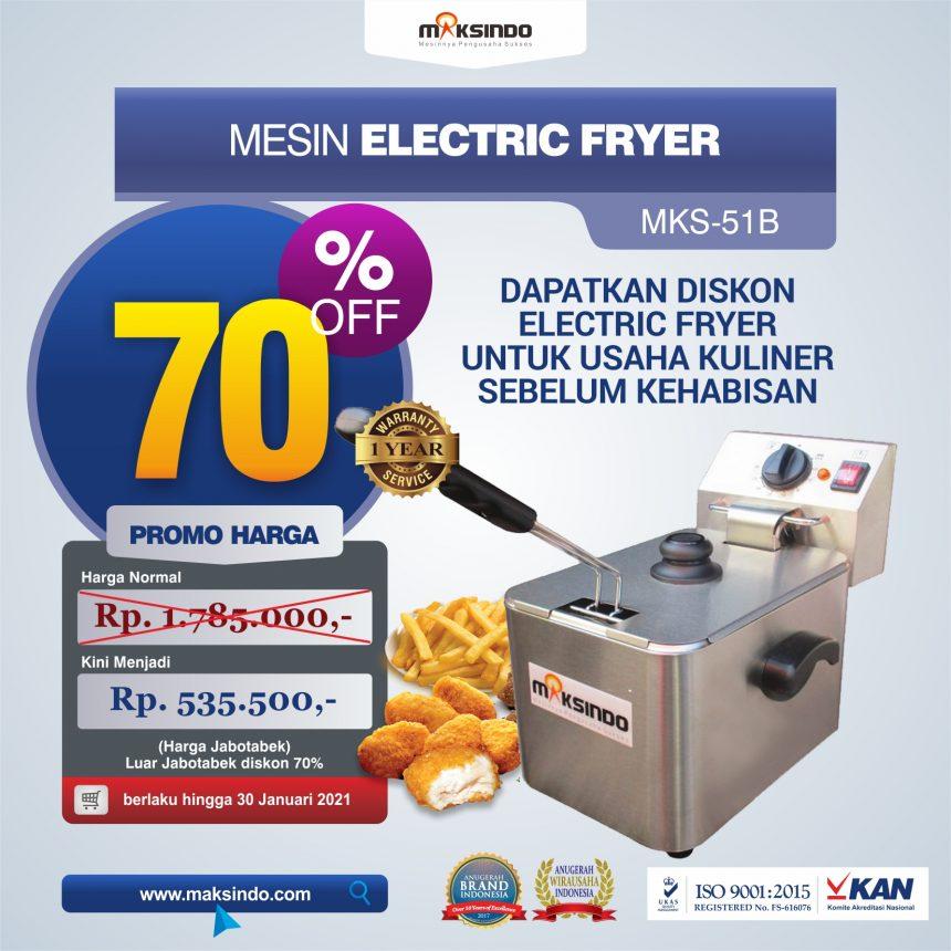 Jual Mesin Electric Fryer MKS-51B di Mataram