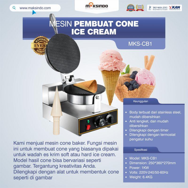 Jual Pembuat Cone Ice Cream (CB1) di Mataram
